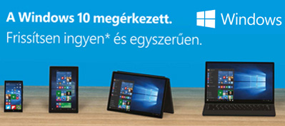 �gy tud a windows 10-re d�jmentesen friss�teni!