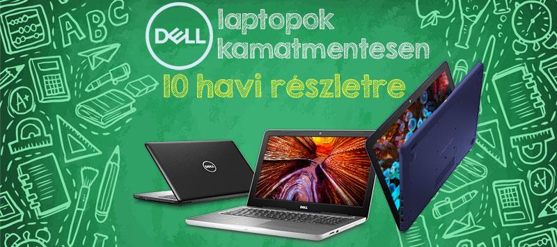 Dell 0 % THM iskolakezdési akció 4392ae55ca