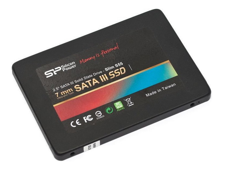 Silicon Power  120GB SSD-SATAIII S55 meghajtó