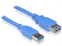 Delock  Cable USB 3.0-A Extension male-female 1m 82538 kép, fotó