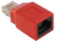 Delock  RJ45 Crossover Adapter male - female 65025 kép, fotó