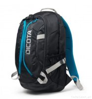 "Dicota  Active Backpack 15.6"" - Black/Blue D31047 kép, fotó"