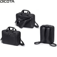 "Dicota  TopTraveler Dual Eco Carrying Case 15.6"" D30925 kép, fotó"