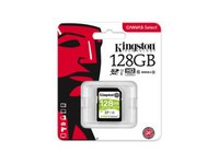 Kingston  128GB Canvas Select 80R Class 10 UHS-1 SDXC memóriakártya SDS/128GB kép, fotó