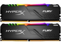 Kingston  2x8GB/3600MHz DDR4 1RX8 CL17 HyperX FURY RGB desktop memória HX436C17FB3AK2/16 kép, fotó