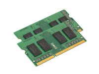 Kingston  8GB (2x4) DDR3 1333MHz notebook memória KVR13S9S8K2/8 kép, fotó