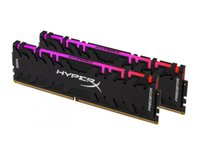Kingston  HyperX Predator RGB 16GB DDR4 3200MHz PC memória (Kit of 2) HX432C16PB3AK2/16 kép, fotó