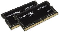 Kingston  Notebook Memória HyperX DDR4 16GB 2400MHZ CL14 SODIMM (Kit of 2) Impact HX424S14IBK2/32 kép, fotó