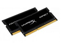 Kingston  Notebook Memória HyperX DDR3L 8GB 1866MHz CL11 SODIMM (Kit of 2) 1.35V Impact HX318LS11IBK2/8 kép, fotó