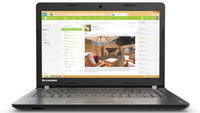Lenovo IdeaPad 100 14 80MH007PHV/4GB laptop k�p, fot�