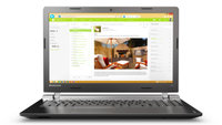 Lenovo IdeaPad 100 15 Refurbished 80MJ00KSHV_REF laptop kép, fotó