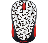 Logitech  M238 Play Collection Egér - Red Zigzag 910-004783 kép, fotó