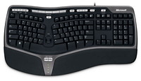 Microsoft  Natural Ergonomic Keyboard 4000 - International English B2M-00006 kép, fotó