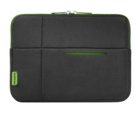 "Samsonite  Airglow Sleeves Laptop Sleeve 10.2"" - Black/Green U37-019-002 kép, fotó"