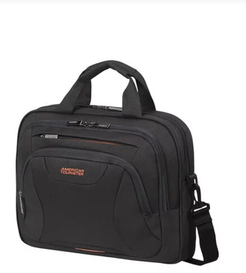 "American Tourister  At Work aktatáska 14.1"" - Black/Orange"