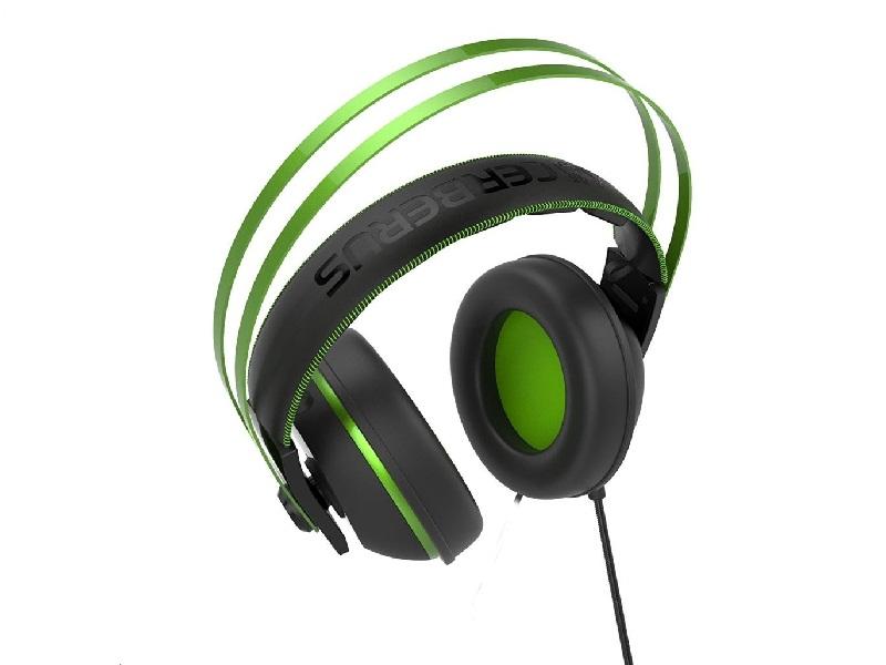 ... Asus Cerberus V2 gamer headset - Fekete-zöld Multimédia ... 62c25b8771