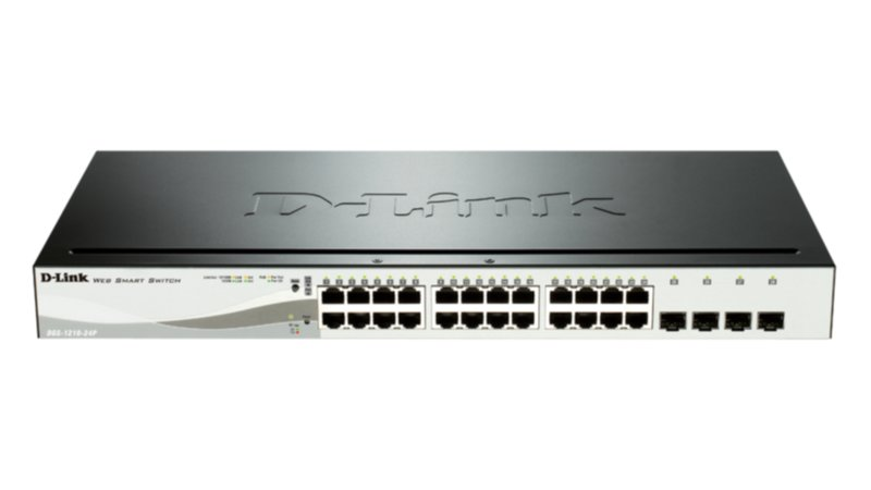 D-Link  SWITCH 20X1000MBPS+4X1000/SFP Smart