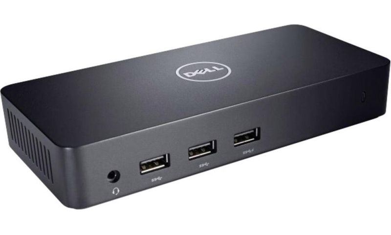 Dell  D3100 USB 3.0 Ultra HD Triple Video Docking Station