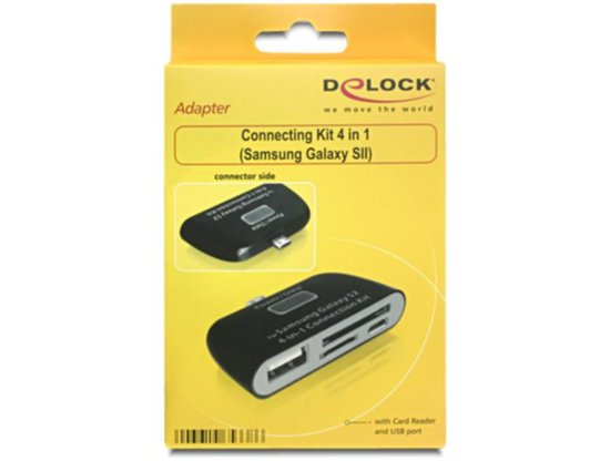 Delock  Connecting Kit 4in1 Samsung Galaxy S2