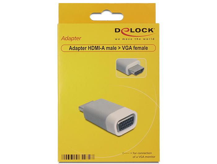 Delock  adapter HDMI-A apa > VGA anya