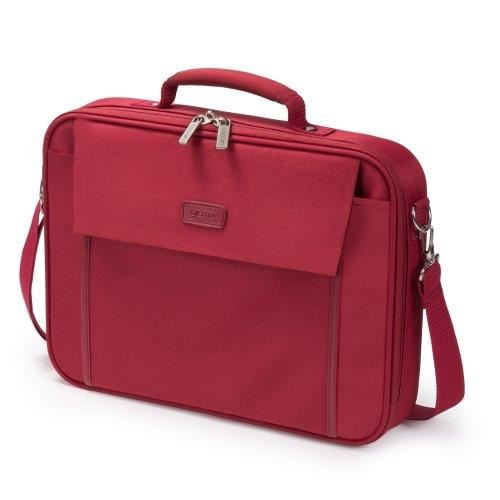 "Dicota  Multi BASE Carrying Case (17.3"") - Red"