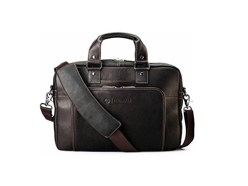 ... HP Elite Top Load Leather notebook táska Laptop táska 7d6037d4bd