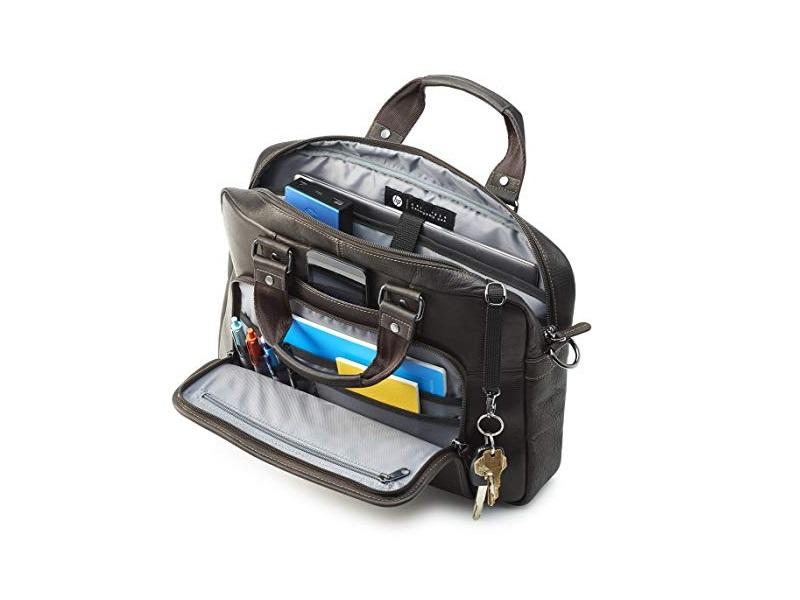 HP Elite Top Load Leather notebook táska olcsó vásárlás 47ebda3f12