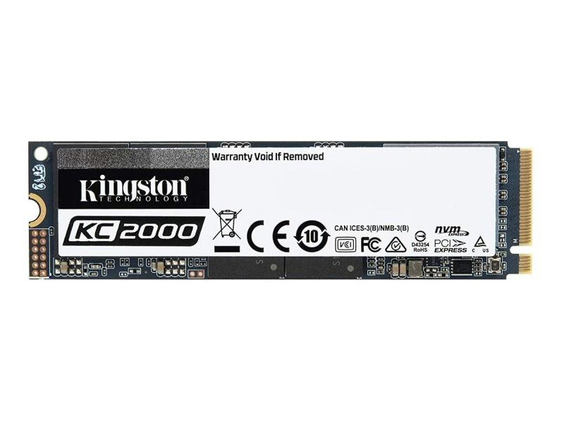 Kingston  KC2000 500GB M.2 PCl-E SSD