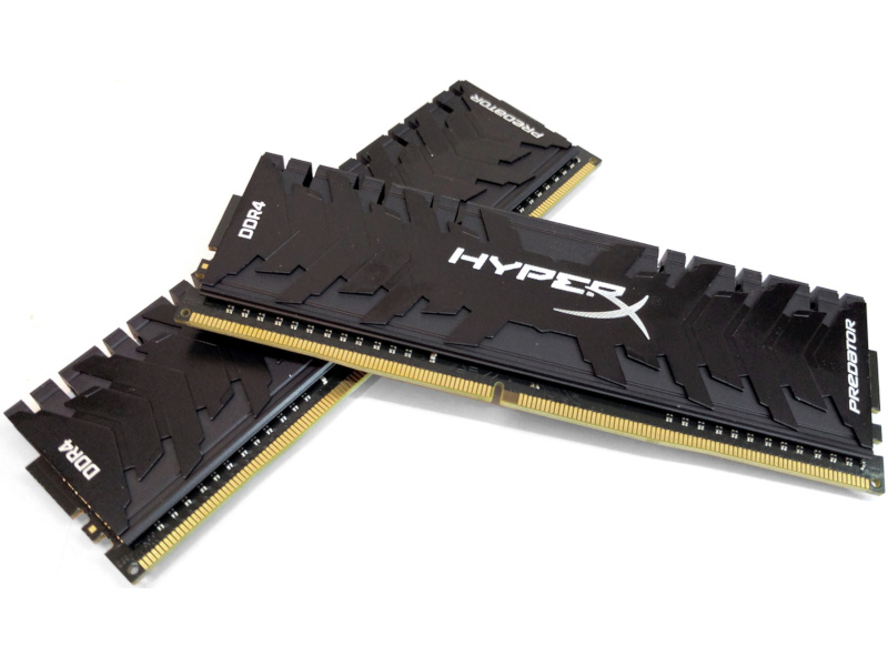 Kingston  HyperX Predator DDR4 64GB 2666MHz CL15 XMP (KIT OF 2) desktop memória
