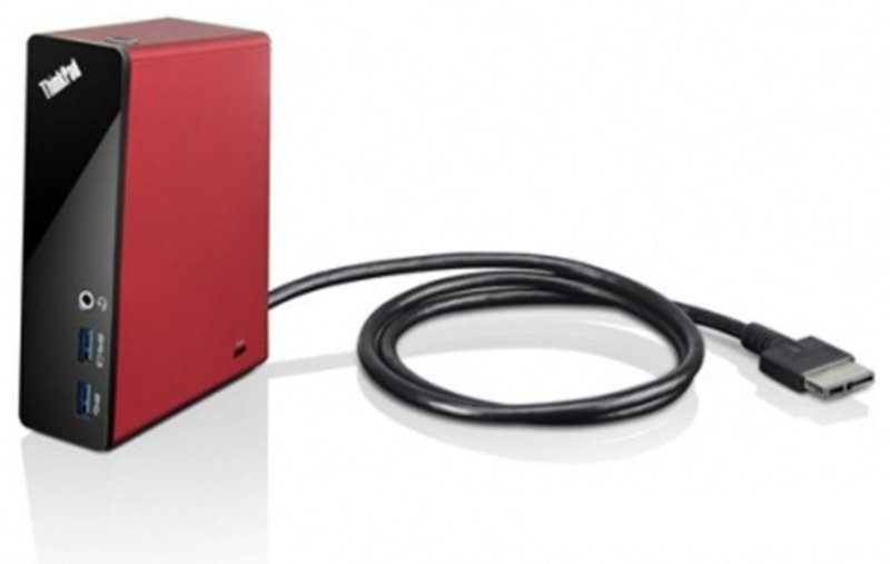 Lenovo  ThinkPad OneLink Dock (Port Replicator) - Red