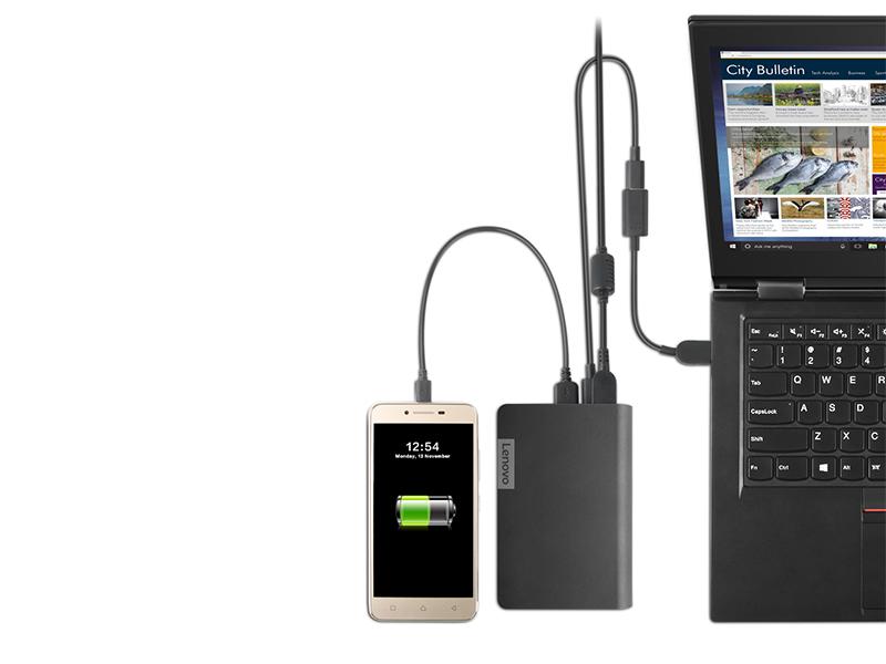 e527d3d446dd ... Lenovo USB-C Laptop Power Bank 14000mAh-WW Laptop töltő / Powerbank ...