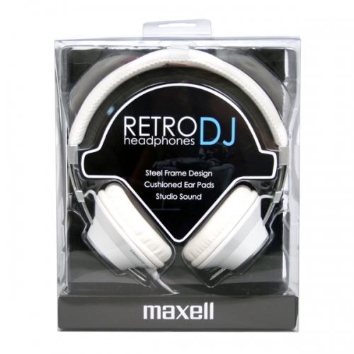 Maxell RETRO DJ FEJHALLGATÓ 3.5MM JACK - FEHÉR olcsó vásárlás ... 5c1fee68b9