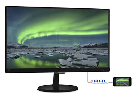 Philips  237E7QDSB/00 monitor