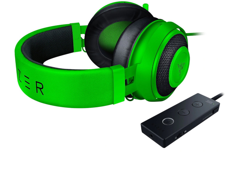 Razer  Kraken Tournament Ed. zöld gamer headset