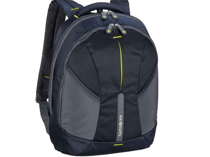 ... Samsonite 4mation Laptop Backpack - Midnight Blue Yellow Laptop táska 45d046784c
