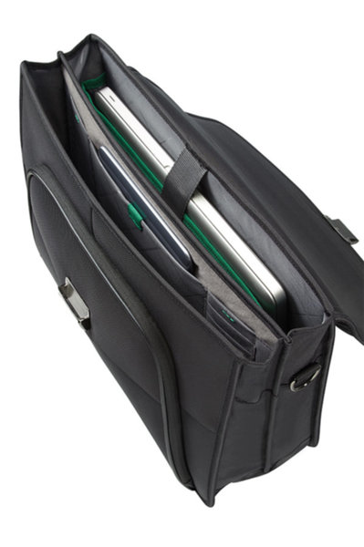 Samsonite Desklite Briefcase 2 Gussets 15.6