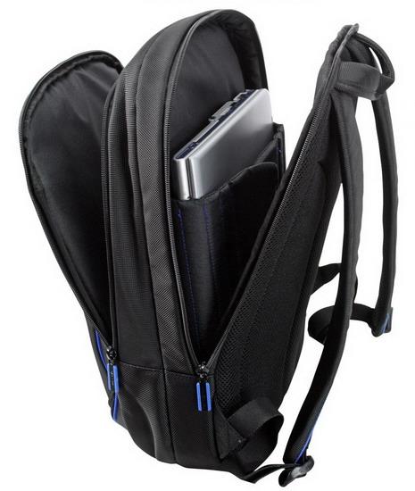 ... Samsonite Flexxea Laptop Backpack 13-16 quot  - Black Electric Blue Laptop  táska 11b2980d14