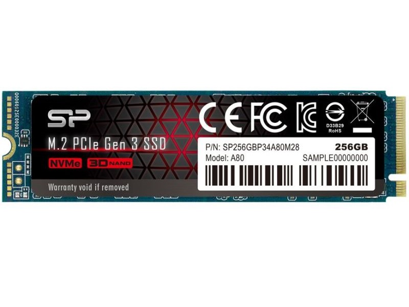 Silicon Power  SSD - 256GB A80