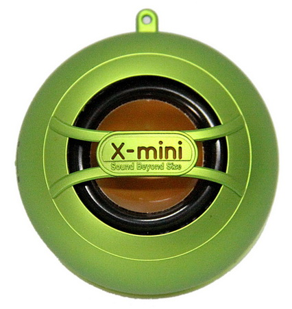 X-mini UNO Capsule Speaker - Green (XminiUNO_Grn)