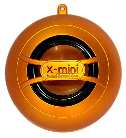 X-mini UNO Capsule Speaker - Orange (XminiUNO_Ong)
