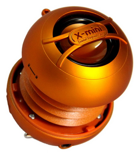 X-mini  UNO Capsule Speaker - Orange Multimédia
