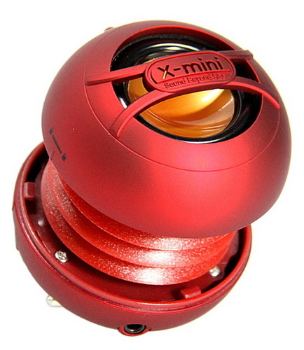 X-mini  UNO Capsule Speaker - Red Multimédia